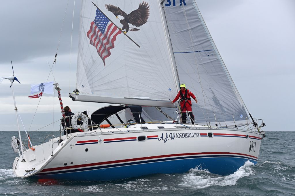 From Michigan, USA, Charlene Howard's Sun Odyssey 45.2 AJ Wanderlust © Rick Tomlinson/RORC