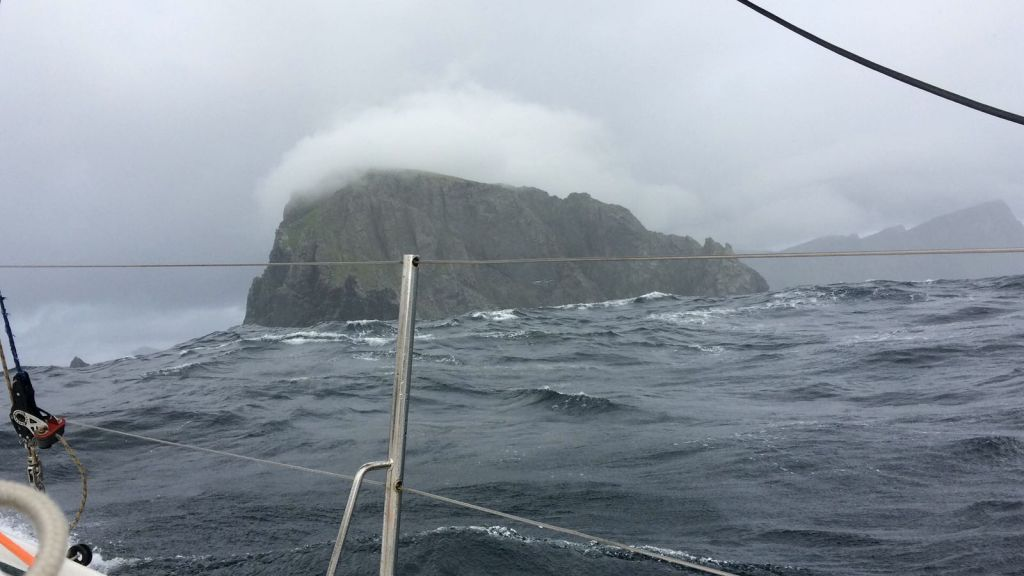 Muckle Flugga from Elin Haf Davies, Chris Frost and Pip Hare's Class40 © Aparito