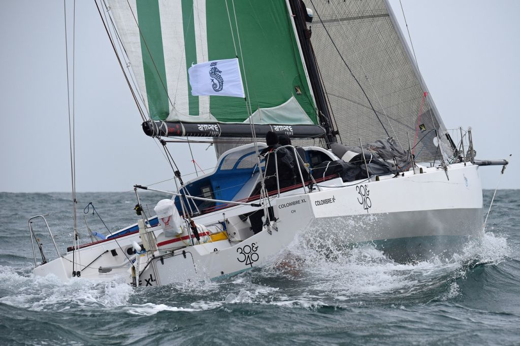 The French and Senegalese team on Charles Louis Mourruau's Class40 Colombre XL/  The Lost Boys © Rick Tomlinson