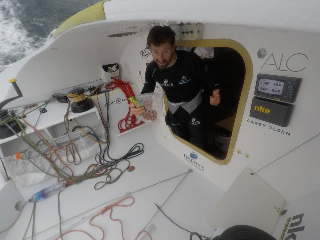 On board Phil Sharp's Class40 Imerys Clean Energy © philsharpracing