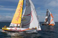 Azzam, Abu Dhabi VO65 entry. Credit: Gilles Martin-Raget/Team Alvimedica