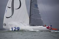 Concise 8, skippered by Ned Collier Wakefield, the returning Clas40 record holder for the course.