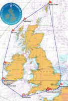 The Sevenstar Round Britain and Ireland Race course. Credit: UK Hydrographic Office